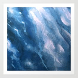 In the Company of Myself: Abstract #3 Art Print