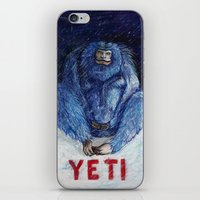 yeti iPhone & iPod Skins featuring Yeti by ----