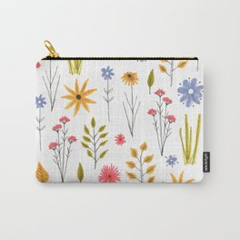 meadow floral print Carry-All Pouch