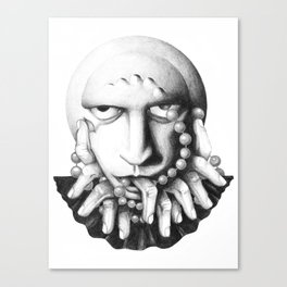 Perla... Canvas Print