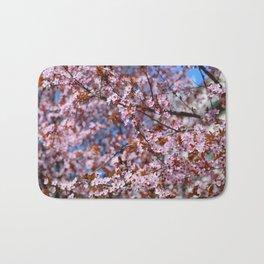 """Pink spring"". Flowers. Bath Mat"
