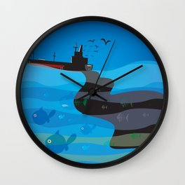 go humans! Wall Clock