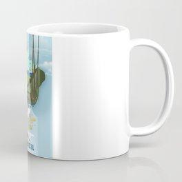 Brazil Map vacation poster. Coffee Mug