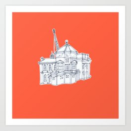 Oxford Art Print