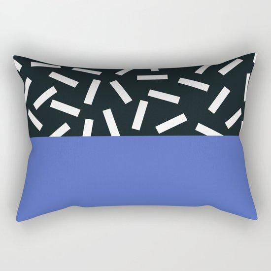 Memphis pattern 19 Rectangular Pillow