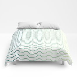 Ombre Waves Comforters