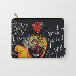 Always be proud of you street art graffiti Carry-All Pouch