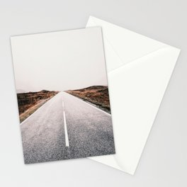 ROAD - HIGH WAY - LANDSCAPE - PHOTOGRAPHY - NATURE - ADVENTURE - SKY Stationery Cards