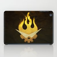 movie poster iPad Cases featuring Gurren Lagann Movie Poster by 5eth
