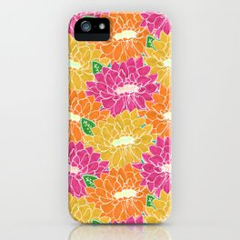Paper Cut Floral iPhone Case