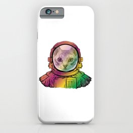 Cat in a Helmet! iPhone Case