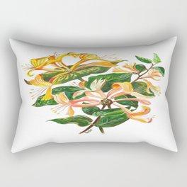 Honeysuckle Bouquet Rectangular Pillow