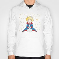 little prince Hoodies featuring Kokeshi The little prince by Pendientera