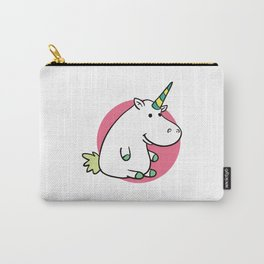 Fat unicorn Carry-All Pouch