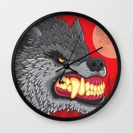 Night of the Werewolf Wall Clock