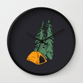 Camper Wall Clock
