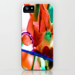 Raindrop iPhone Case