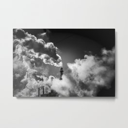 the cloudmaker Metal Print