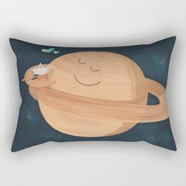 Best Hug Ever: Cassini's Grand Finale Rectangular Pillow