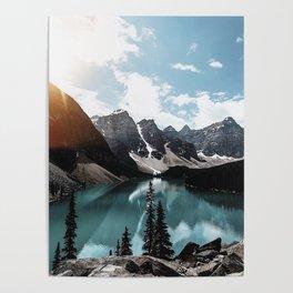 Lake Moraine Poster