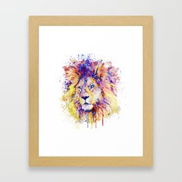 The New King Framed Art Print