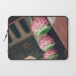 Lotus Lanterns Laptop Sleeve