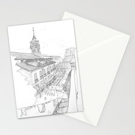 Medieval market Stationery Cards