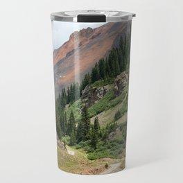 Road to the Longfellow Mine, elevation 11,080 feet Travel Mug