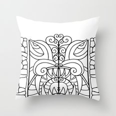 Threshold Guardian Throw Pillow