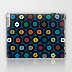 VINYL blue Laptop & iPad Skin