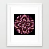 pomegranate Framed Art Prints featuring Pomegranate by interopia
