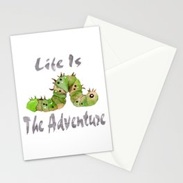 Life Is The Adventure Stationery Cards