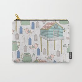 Adorable and Lovely Birds Pattern Carry-All Pouch