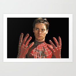 toby maguire Art Print