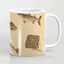 Vintage style fish of the ocean Coffee Mug