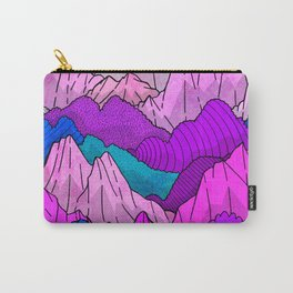 The night time hills Carry-All Pouch