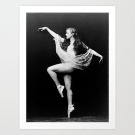 Zeigfeld Follies Girl Art Print