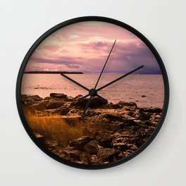 Just a Little While Wall Clock