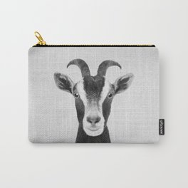 Goat - Black & White Carry-All Pouch