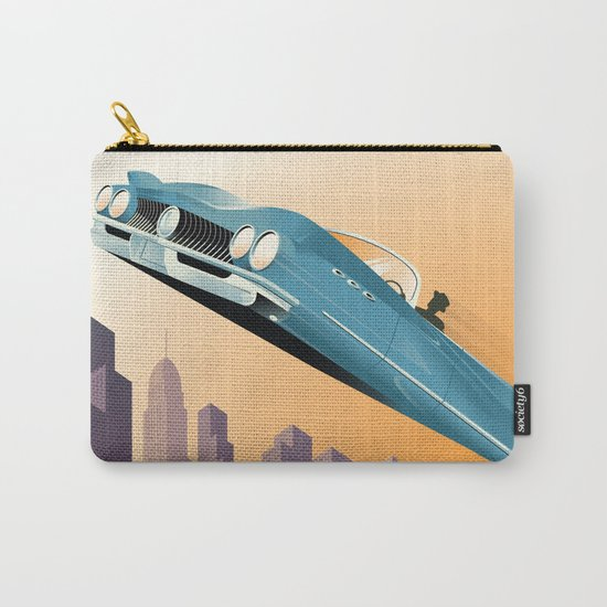 Dude, Where's My Flying Car? Carry-All Pouch