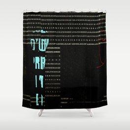 GRAPHIQUE - 1 Shower Curtain