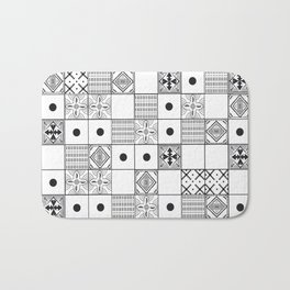 Pattern Tiles Bath Mat