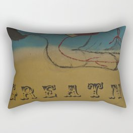 Greatness Rectangular Pillow