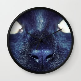 Essential Black Cat Wall Clock