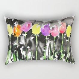 Sumie No.16 Tulips Rectangular Pillow