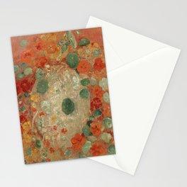 Nasturtiums by Odilon Redon Stationery Cards