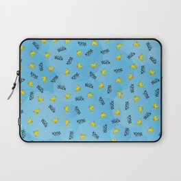 WHAT THE DUCK Laptop Sleeve