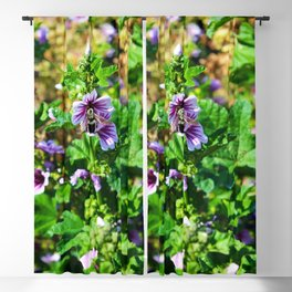 Bee to a Flower Blackout Curtain