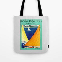 House Beautiful August 1934 Tote Bag