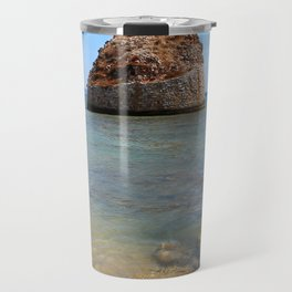 tower in the sea salento italy Travel Mug
